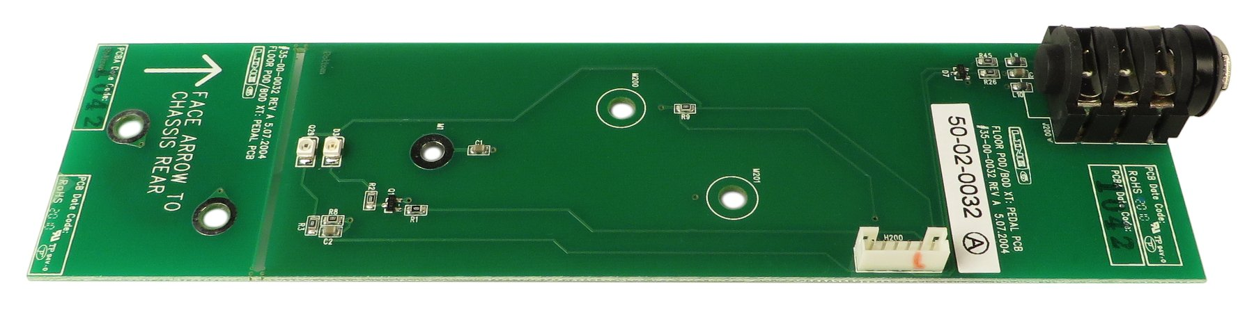 Line 6 50-02-0032 Line 6 POD Pedal PCB Assembly 50-02-0032
