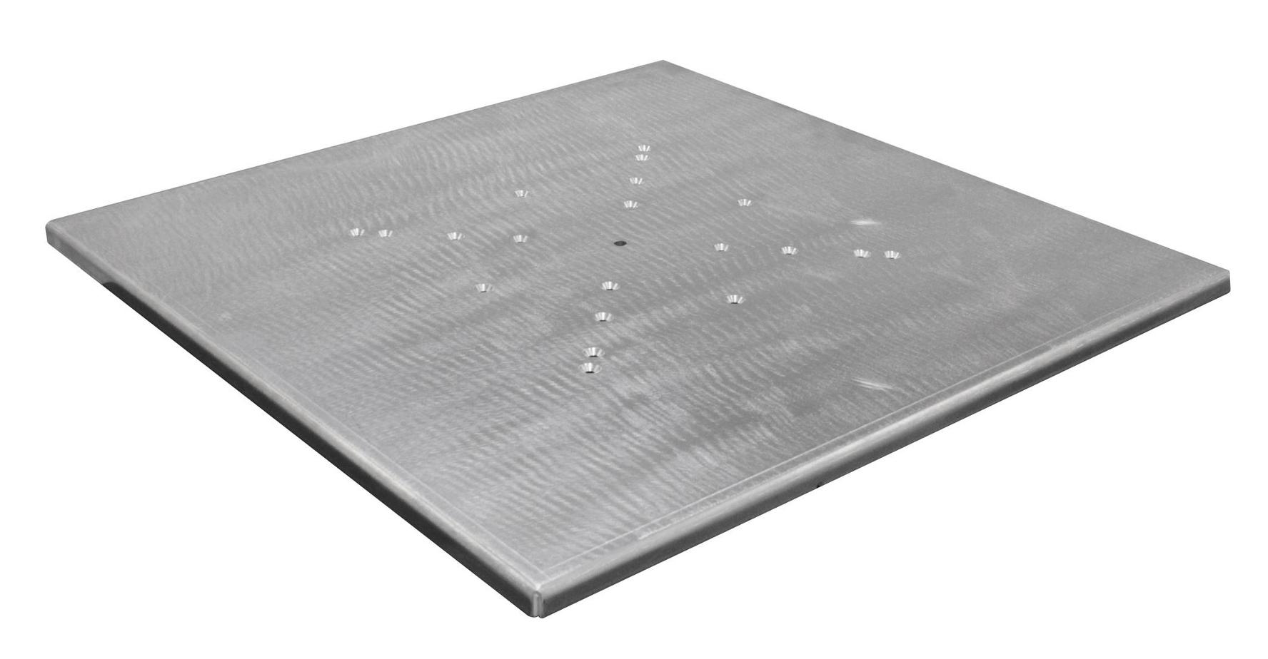 "30"" x 30"" Scrim Werks Aluminum Light Column Base Plate"