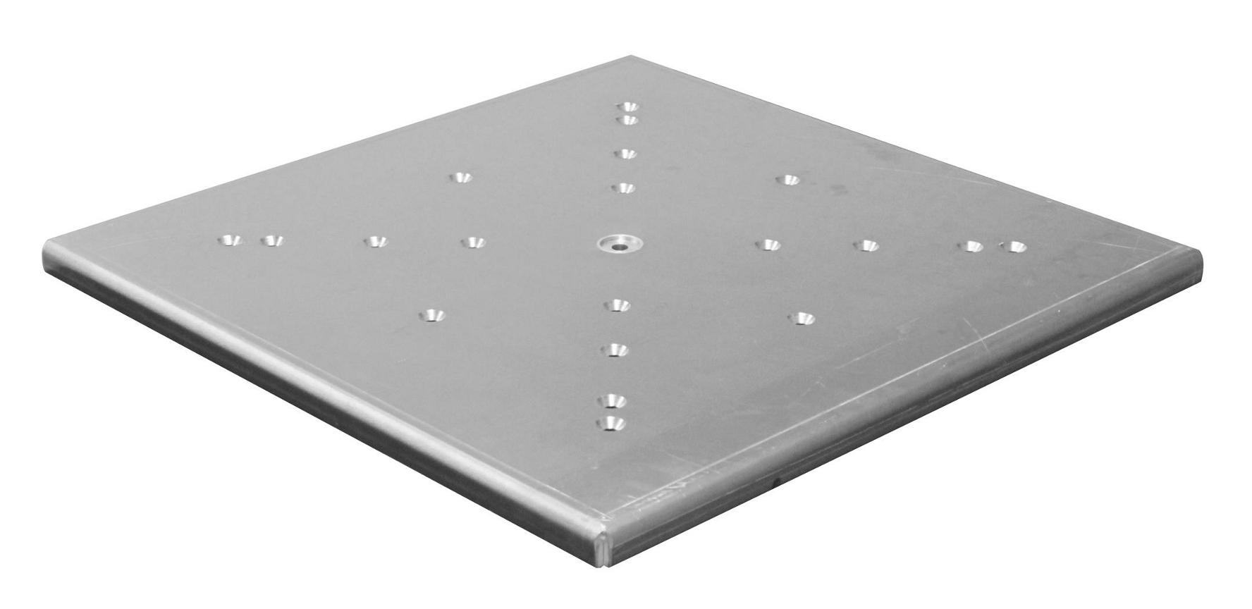 "24"" x 24"" Scrim Werks Aluminum Light Column Base Plate"