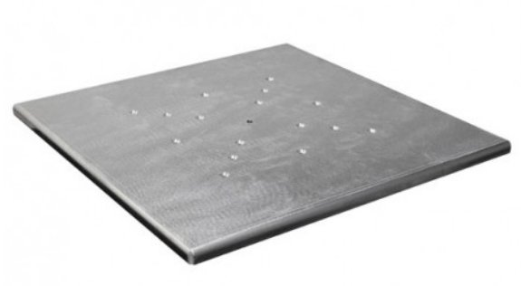 "17""x17"" Scrim Werks Aluminum Light Column Base Plate"