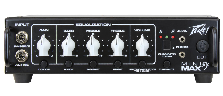 500W (4 Ohms) Bass Amplifier Head