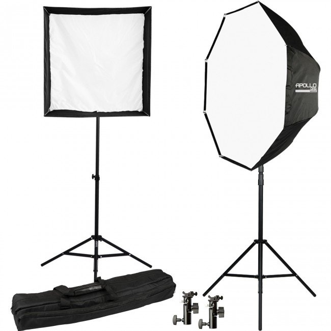 Speedlite and Studio Light Modifier