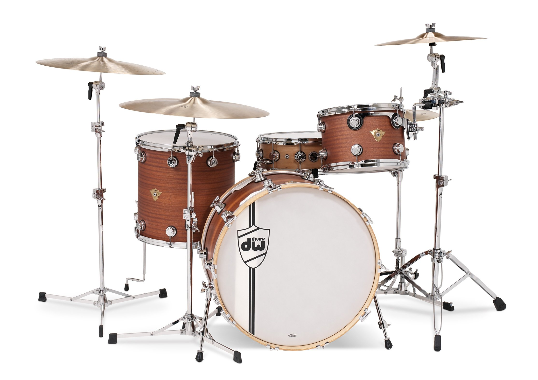 3-Piece Shell Pack in White Satin Finish