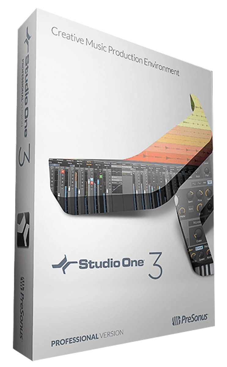 Upgrade from Studio One Professional 1 or 2 to Professional 3