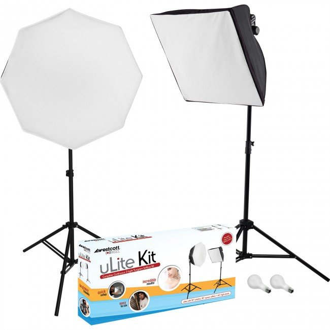 Collapsible Softbox Kit