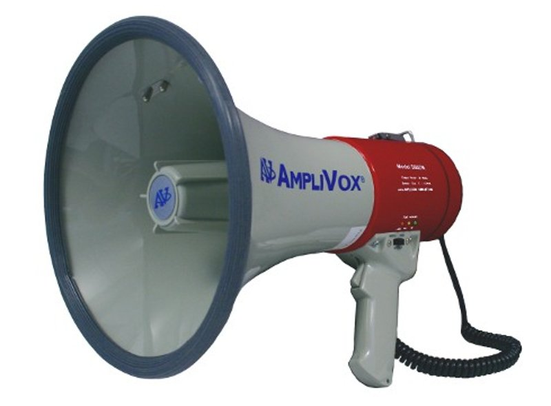Mity-Meg Plus Rechargeable Megaphone with Battery
