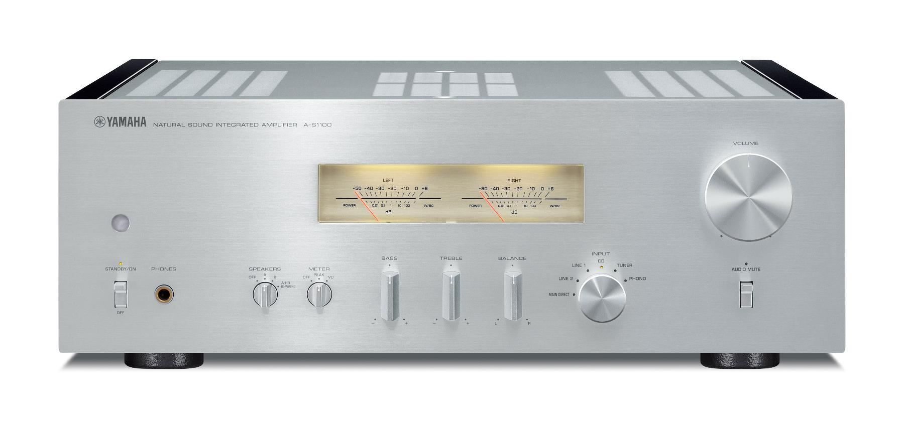 Yamaha A-S1100 Stereo Receiver, Discrete Phono Amp | Full