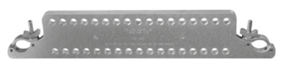 "The Light Source MTP30MH  30"" Mega-Truss Pick Multi-Hole with Aluminum Finish MTP30MH"