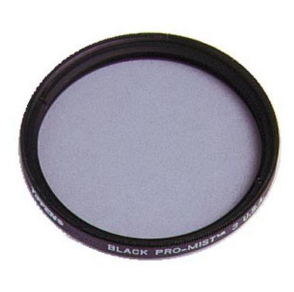 Tiffen 49BPM3 49MM Black Pro-Mist 3 Filter 49BPM3