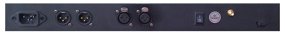 8 Port DMX Splitter with 2.4GHz Wireless DMX Transceiver