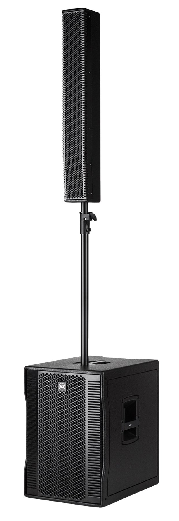 """1400 Watt Peak Active Portable Line Array System with 15"""" Subwoofer"""