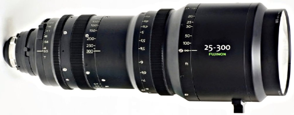 Fujinon Inc ZK12X25  25-300mm T3.5 to 3.85 PL-Mount Cabrio Lens ZK12X25