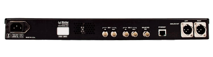 16-Channel Rackmount Amplifier with Dual SDI