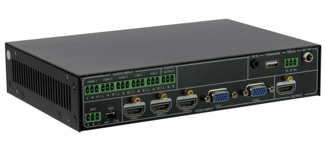 Presentation Switcher, 5 Input x 1 Output