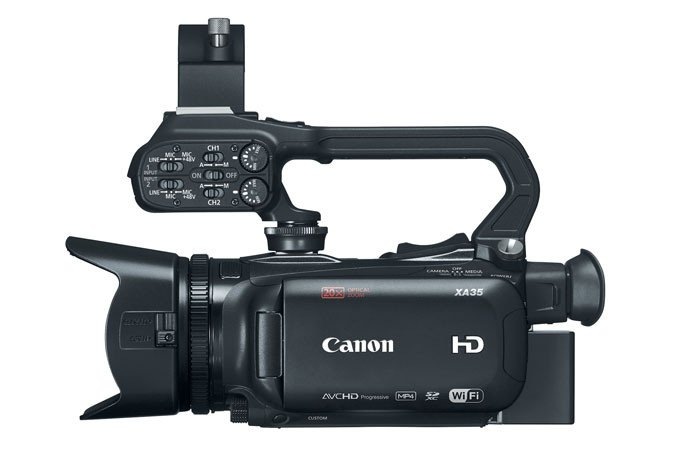 HD Camcorder With HD-SDI & 20x Lens