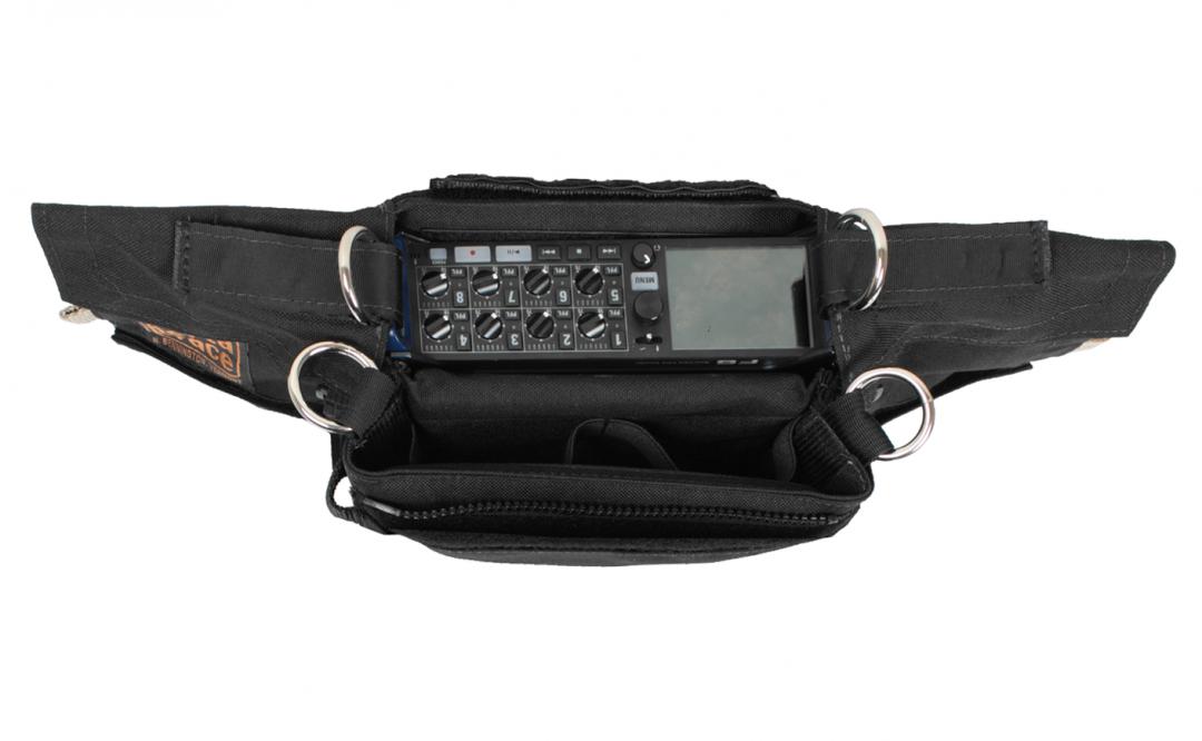 Black Audio Recorder Case for Zoom 8