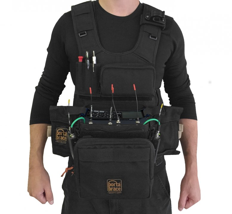 Audio Technical Vest for the Zoom 8
