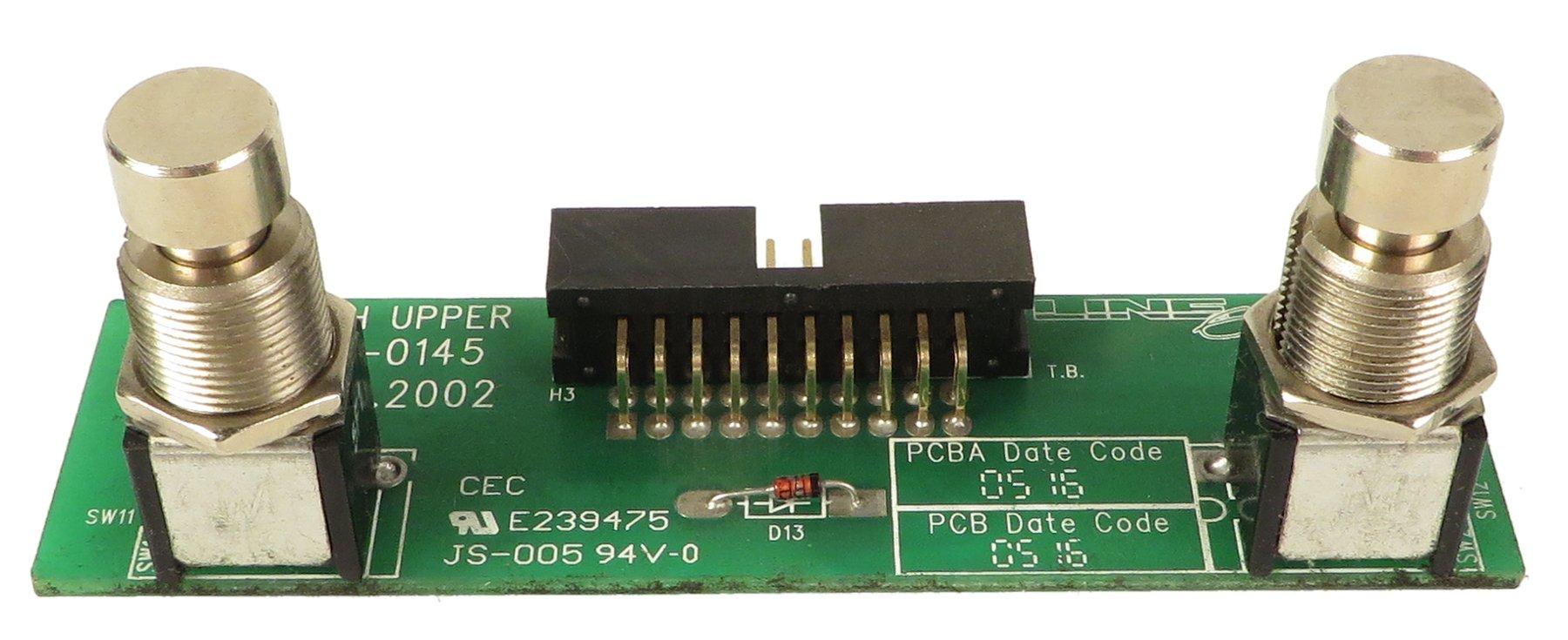 Upper Switch PCB for FBV Shortboard