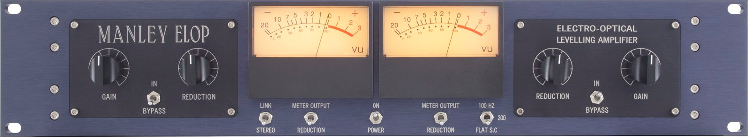 Manley Laboratories ELOP+ Stereo Optical Limiter ELOP+