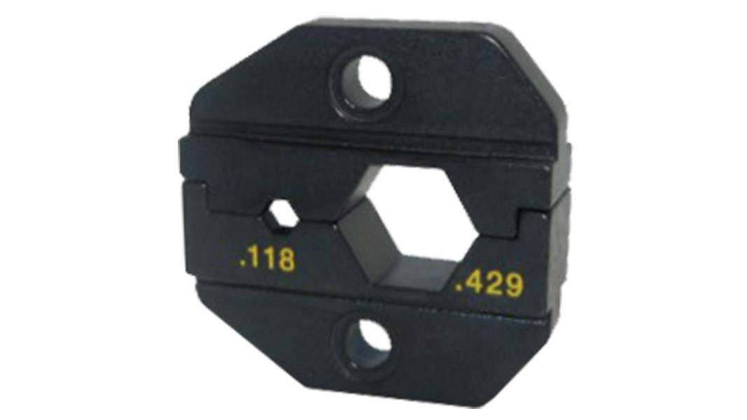 Liberty AV Solutions Amphenol Connex Crimp Die for RG8/RF400 Crimp Tool 47-20027