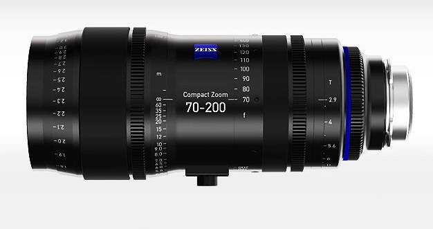 70-200 mm Lens with PL Mount