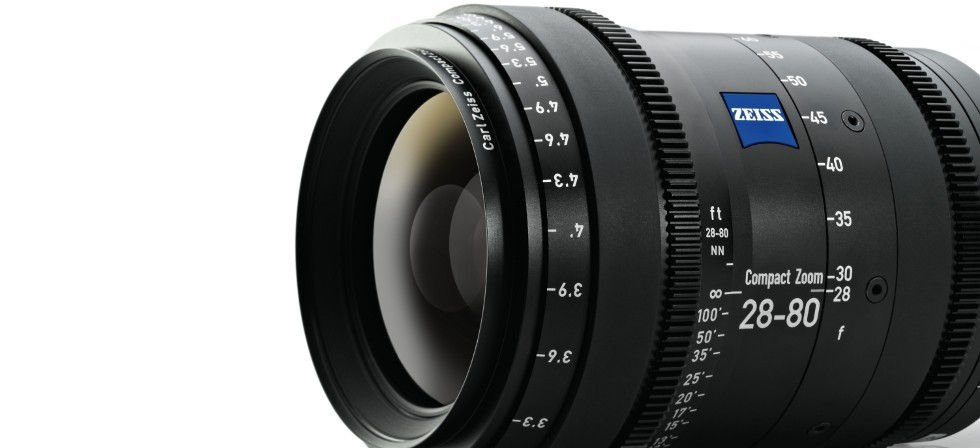 28-80 mm Lens with PL Mount