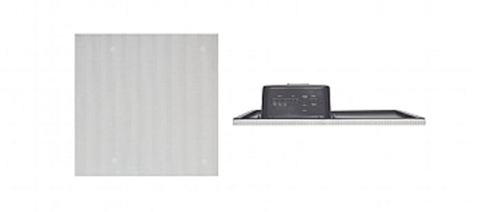 8-Inch, High-Performance Powered Ceiling Tile Speaker