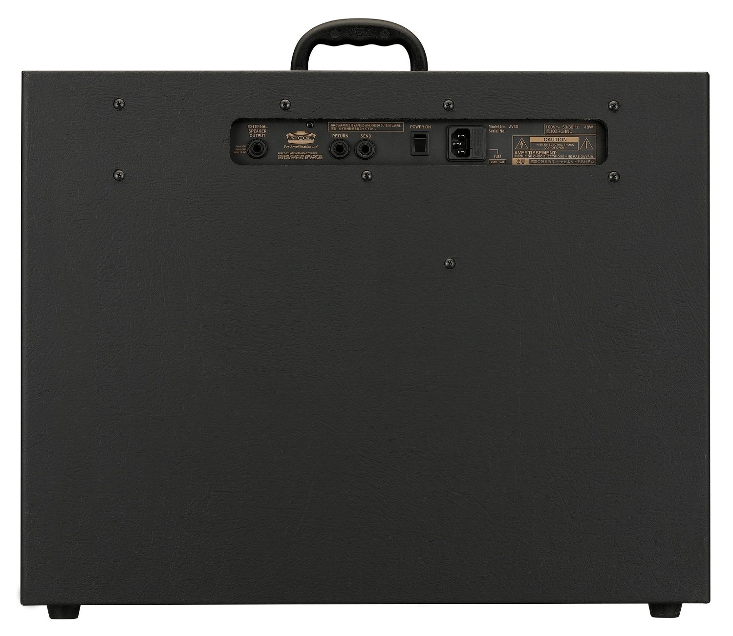 """12"""" 60W Tube Guitar Combo Amplifier with Digital Effects"""