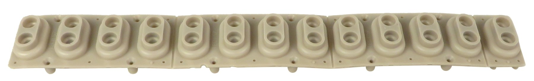 Rubber Contact Strip for PC2X and K2000