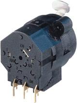 "Combo 1/4"" + 3-pin XLR Female Receptacle, Stereo Switching Jack, Horizontal PCB Mount"