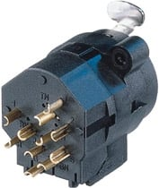 """Combo 1/4"""" - 3-pin XLR Female Receptacle, Stereo Switching Jack, Solder Cups"""