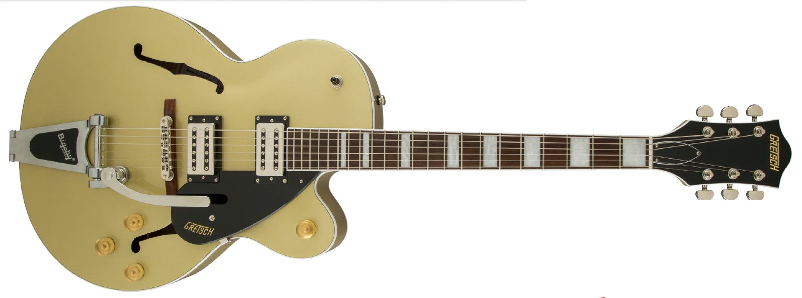 Gretsch Guitars G2420T Streamliner Series Single Cutaway Hollow Body HH Electric Guitar with Bigsby G2420T