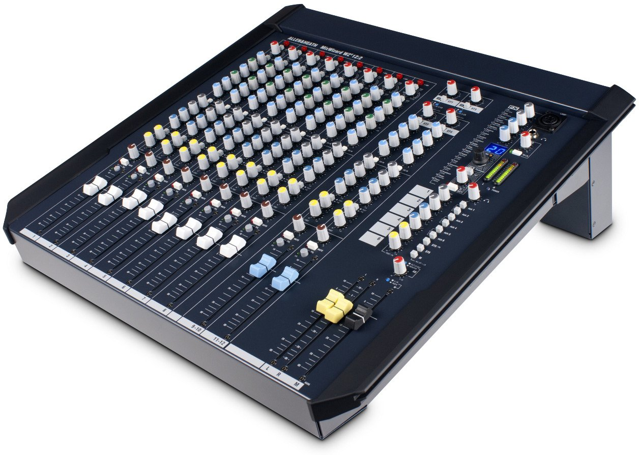12 Channel Desk and Rack Mountable Mixer