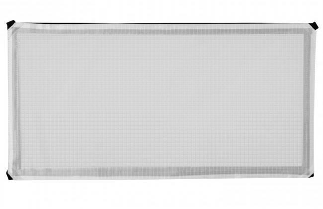 1 ft x 2 ft 1/4-Stop Grid Cloth Diffuser