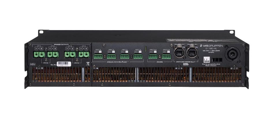 Lab Gruppen D120-4L 4-Channel, 12000W Amplifier, L5-30-US D120-4L