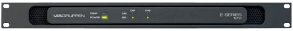 2-Channel Power Amplifier with Low Impedance and 70/100V Operation