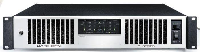 C Series 4-Channel 70V Amplifier (4x2200W)