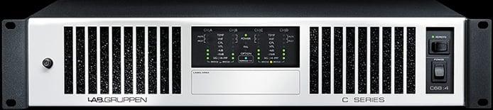 C Series 4-Channel 70v Amplifier (4x1700W)