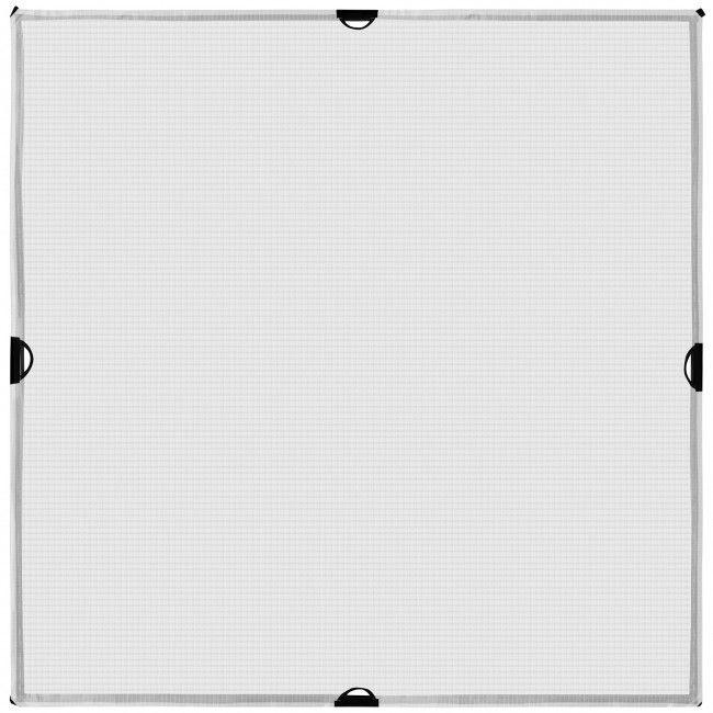 4 ft x 4 ft 1/2-Stop Grid Cloth Diffuser