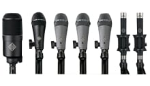 Drum Microphone Package With 7 Microphones