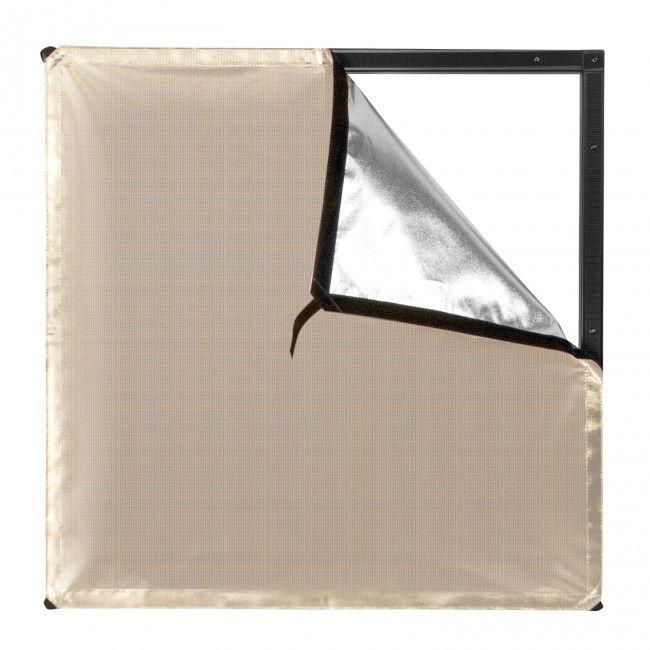 Sunlight/Silver Bounce Fabric