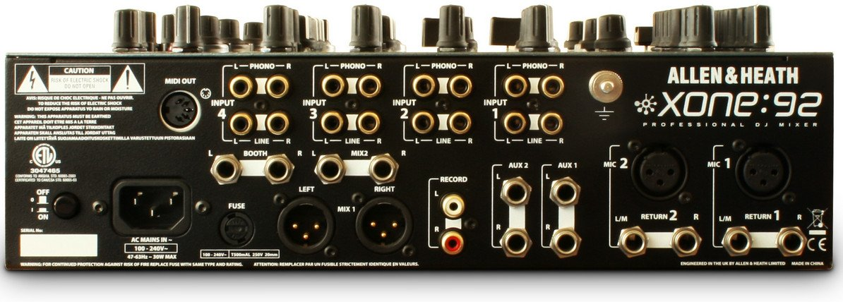 4 Channel DJ Mixer with VCA Faders