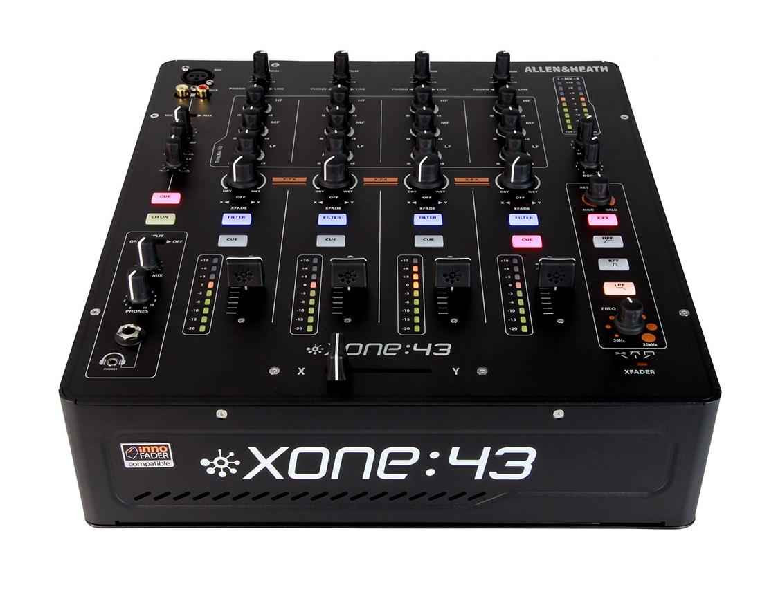 Allen & Heath-Xone XONE-43 4-Channel Analog DJ Mixer XONE-43