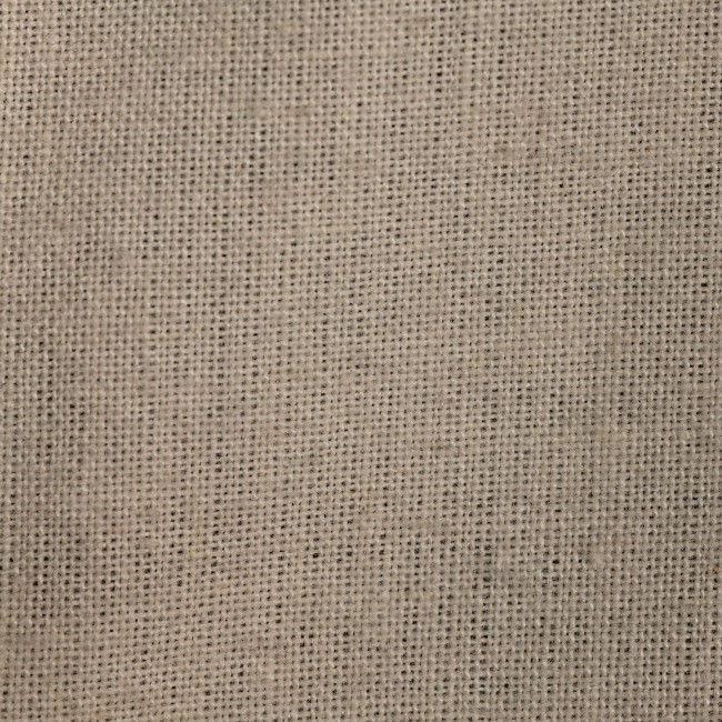 Unbleached Muslin/Black Fabric