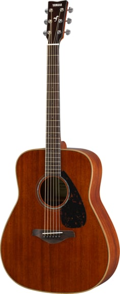 Acoustic Guitar with Mahogany Top, Back, and Sides