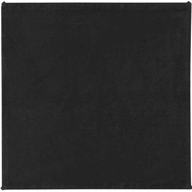 4' x 4' Solid Black Block Fabric