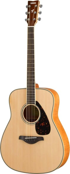 Acoustic Guitar with Solid Sitka Spruce Top, Flame Maple Back and Sides