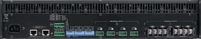 4-Channel C-Series Power Amplifier