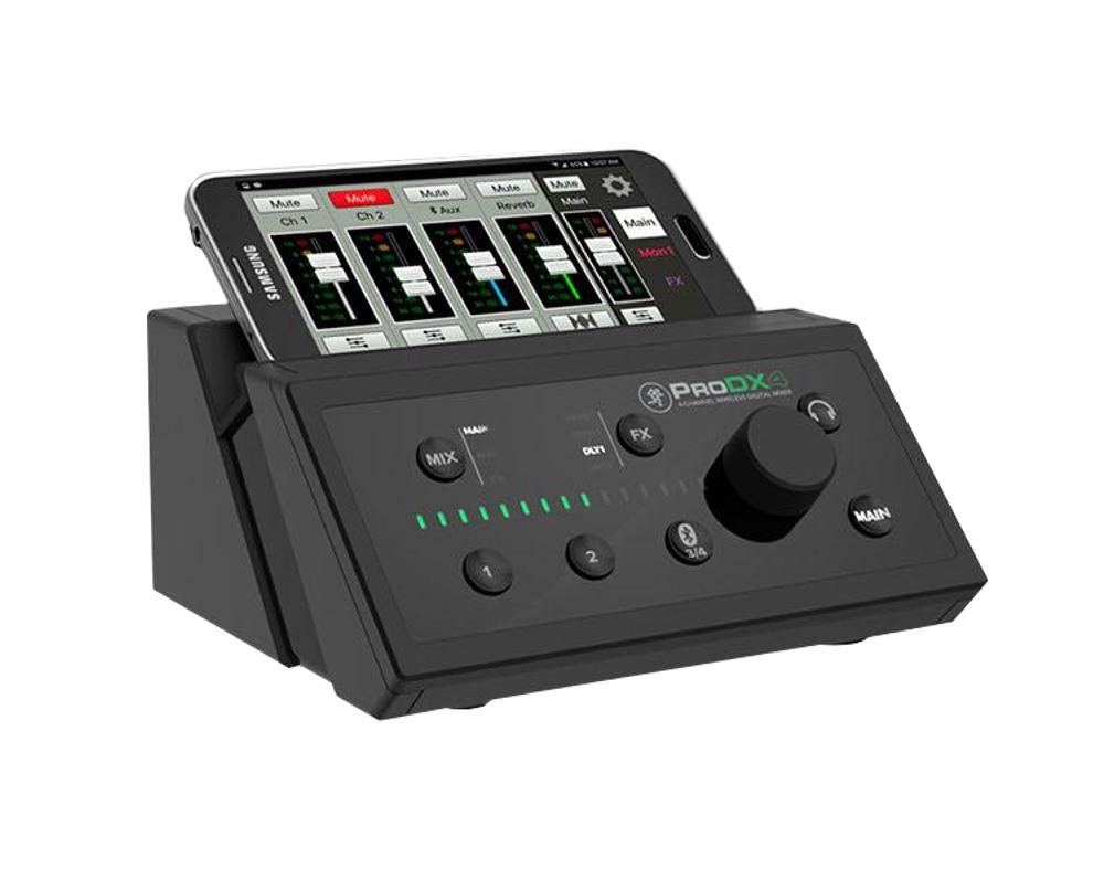 Digital Mixer, 4 Channels, Bluetooth