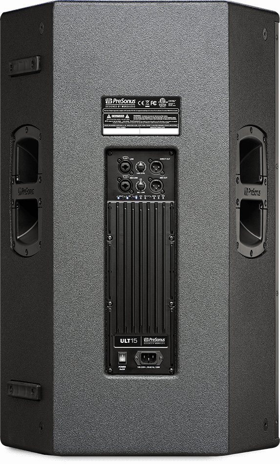 2-Way Active Sound Reinforcement Loudspeakers